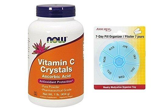 ahora alimentos vitamina c cristales, ácido ascórbico,