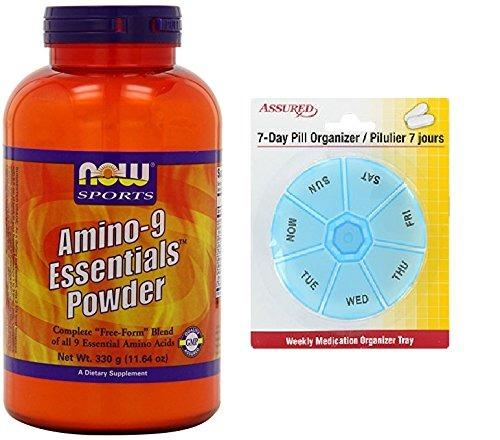 Ahora Deportes 9 Aminocidos Esenciales Polvo 330 Gramo