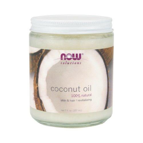 ahora foods coconut oil - 7 oz. paquete de 6 unidades