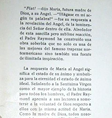 ¡ahora! m. raymond, o.c.s.o. / libro religión
