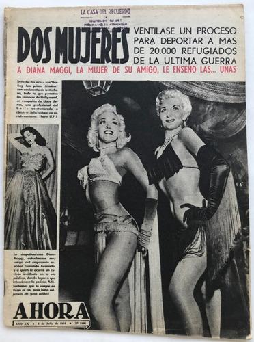 ahora n° 2196 peron diana maggi jan sterling julio 1954