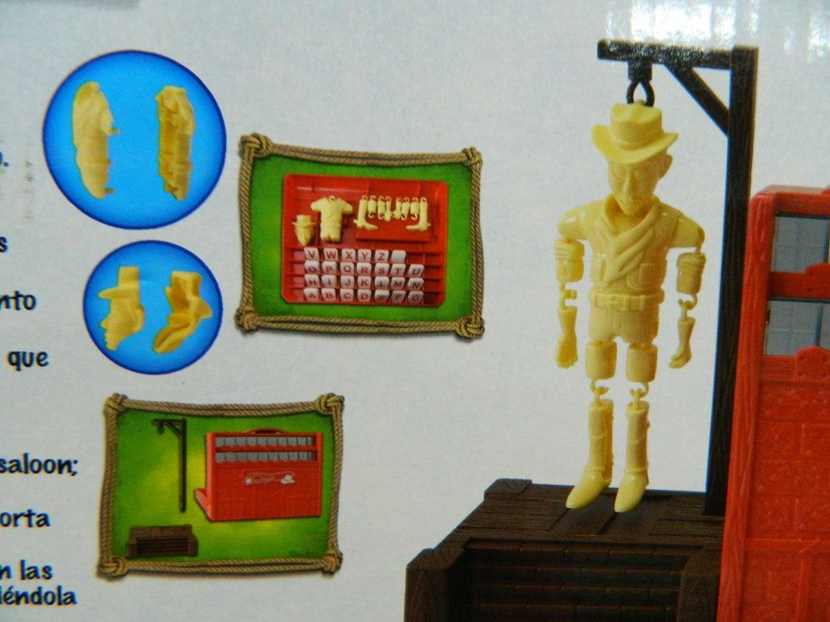 Ahorcado Cowboy 3d Adivina La Palabra Juego De Mesa Toyco 390 00
