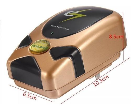 ahorrador de energía, power factor saver. enchufe us plug
