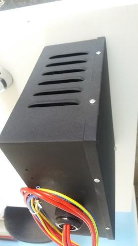 ahorrador de luz - energía con el banco de condensadores