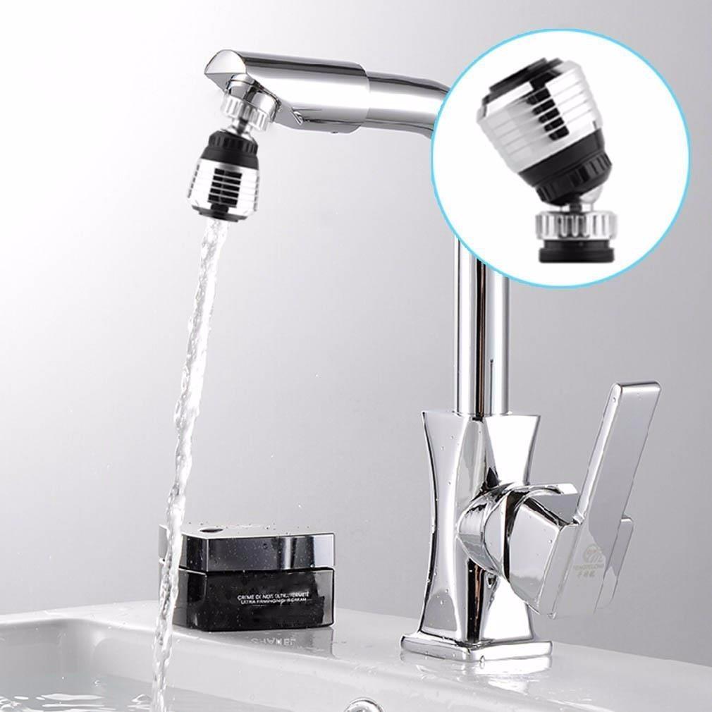 Ahorrador difusor de agua para llave de grifo con filtro for Llaves de agua para tarjas