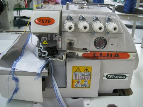 ahorre pareja  maquina de coser industrial overlock y recta