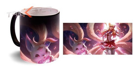 Ahri Taza Magica Guardiana League Of Legends Personalizada