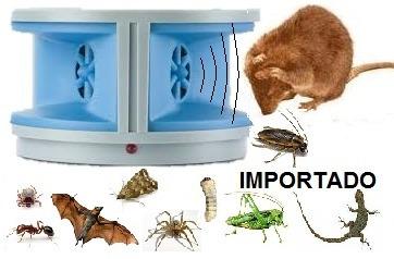 ahuyenta ratas murcielagos cucarachas 100 m2 interior espanta plagas - el emporio en capital  - congreso