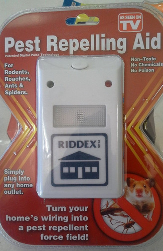 ahuyentador de insectos y roedores