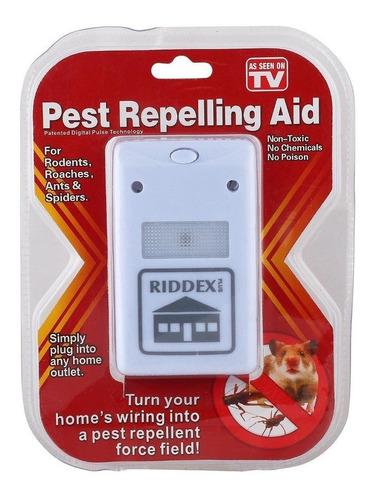 ahuyentador repelente electrico ultrasonido plagas insectos