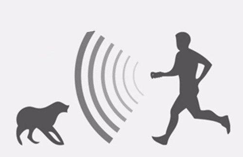 ahuyentador ultrasónico de perros ahuyenta defensa ®