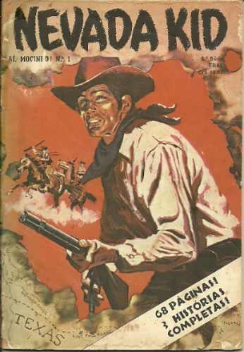ai, mocinho 1 nevada kid ebal publicada em 1980