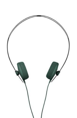 aiaiai tracks auricular con micrófono, verde, talla única