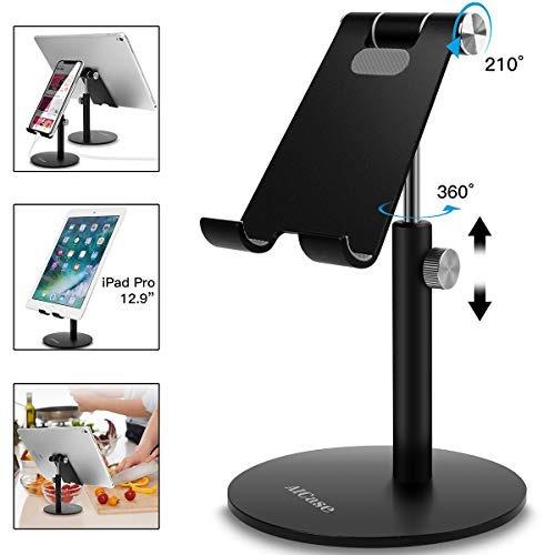 aicase soporte ajustable para tableta, telescopico, ajustabl