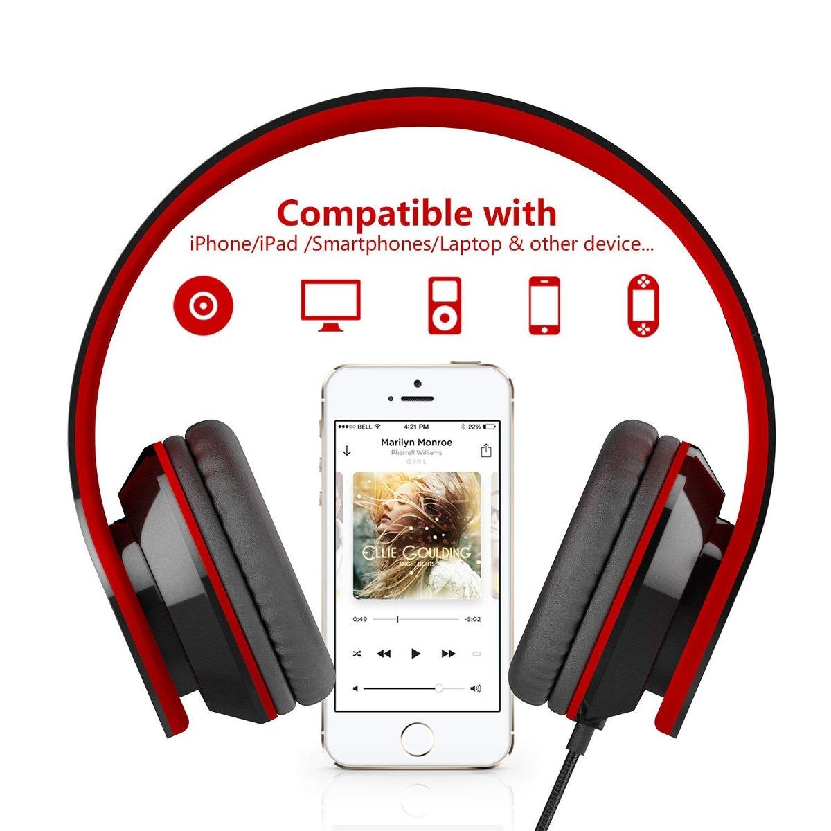 35d7c2f4e58 ailihen i60 en oreja auriculares con micrófono para celular. Cargando zoom.