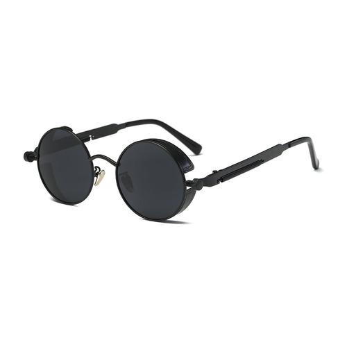 aimade gafas de sol redondas steampunk lente polarizada...