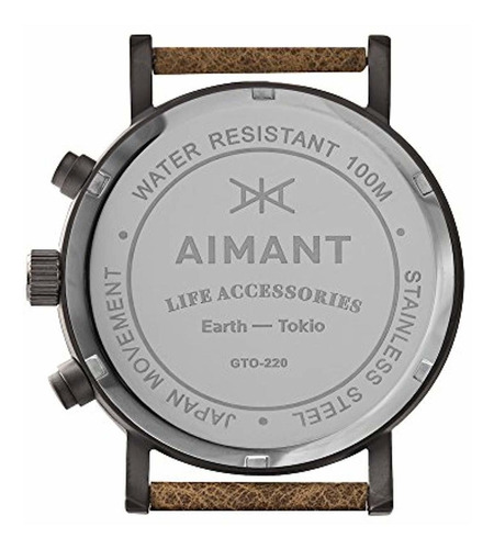 aimant relojes de cronograph tokyo   reloj