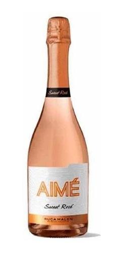 aimé espumante sweet rosé 750ml