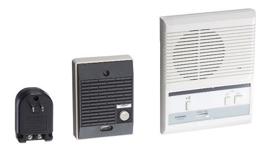 Aiphone LEM-1DLS Single-Door Access Sentry System Starter Kit with One Master Intercom AIPHONE COMMUNICATIONS