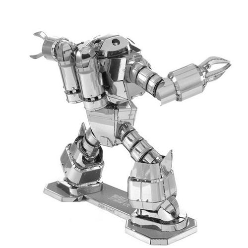 aipin diy 3d rompecabezas estéreo acero modelo robot crab