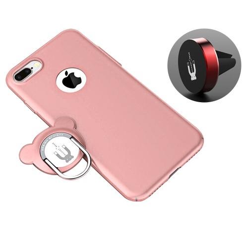 aiqaa para iphone 8 7 funda protectora pc plus doble
