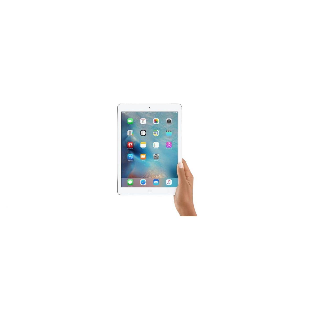 apple ipad air 16gb tela retina 9 7 wifi 4g silver. Black Bedroom Furniture Sets. Home Design Ideas