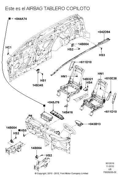 ford explorer airbag del schaltplan