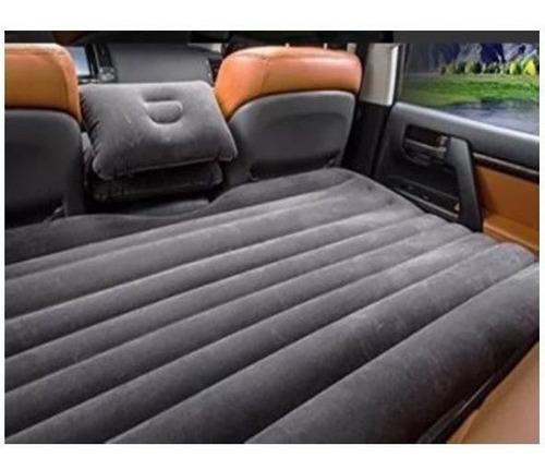 air bed colchón inflable negro p/auto 135x86.4x10cm c/envío