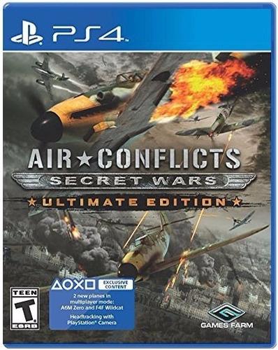 air conflicts secret wars ultimate ed. ps4 fisico en palermo