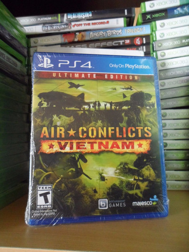 air conflicts: vietnam - nuevo y sellado - ps4