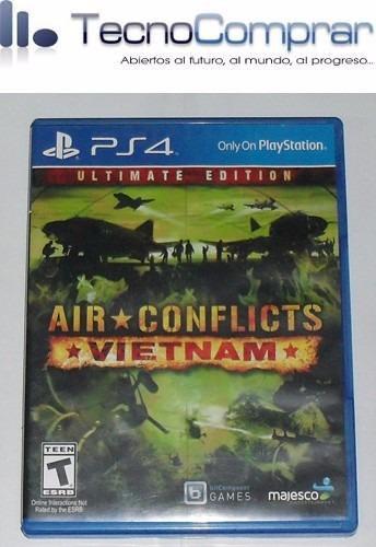air conflicts vietnam (ps4 - usado)