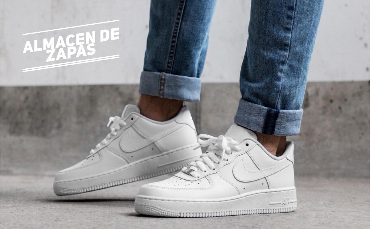 zapatillas nike air force blancas hombre baratas online