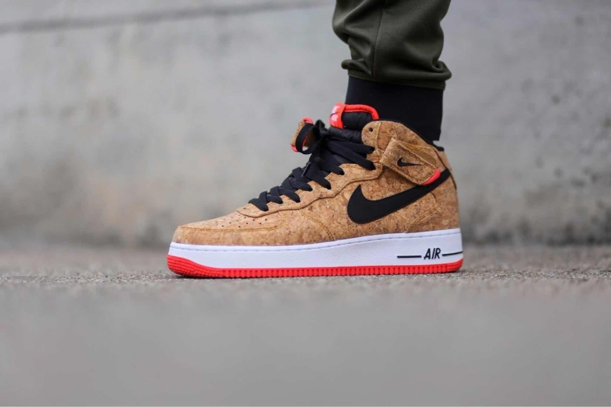 separation shoes 45fb2 4cb3a air force 1 mid corcho. Cargando zoom.