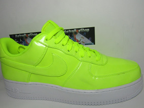 air force 1 verde fluorescente