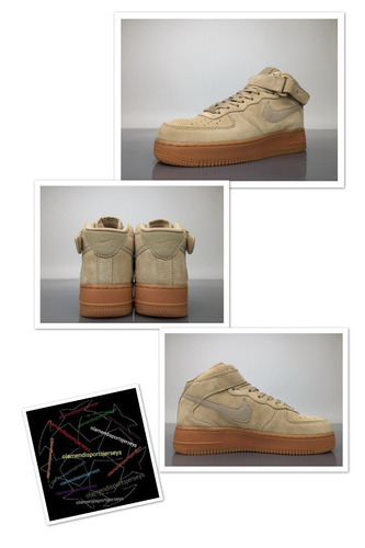 air force one suede  lv8  brown