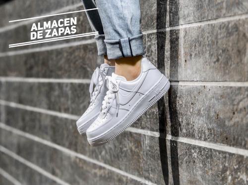 air force zapatillas blancas 100% originales hombre y mujer