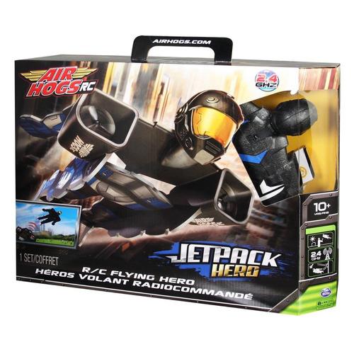 air hogs heroe volador - jetpack hero - flying r/c blue