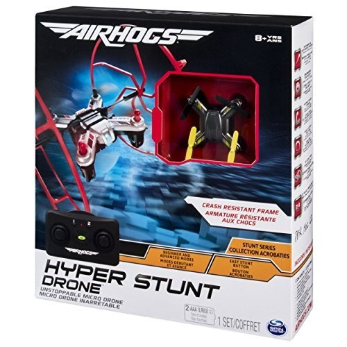 air hogs hyper stunt imparable micro rc drone toy vehículos
