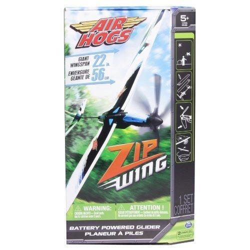 air hogs zip wing - azul