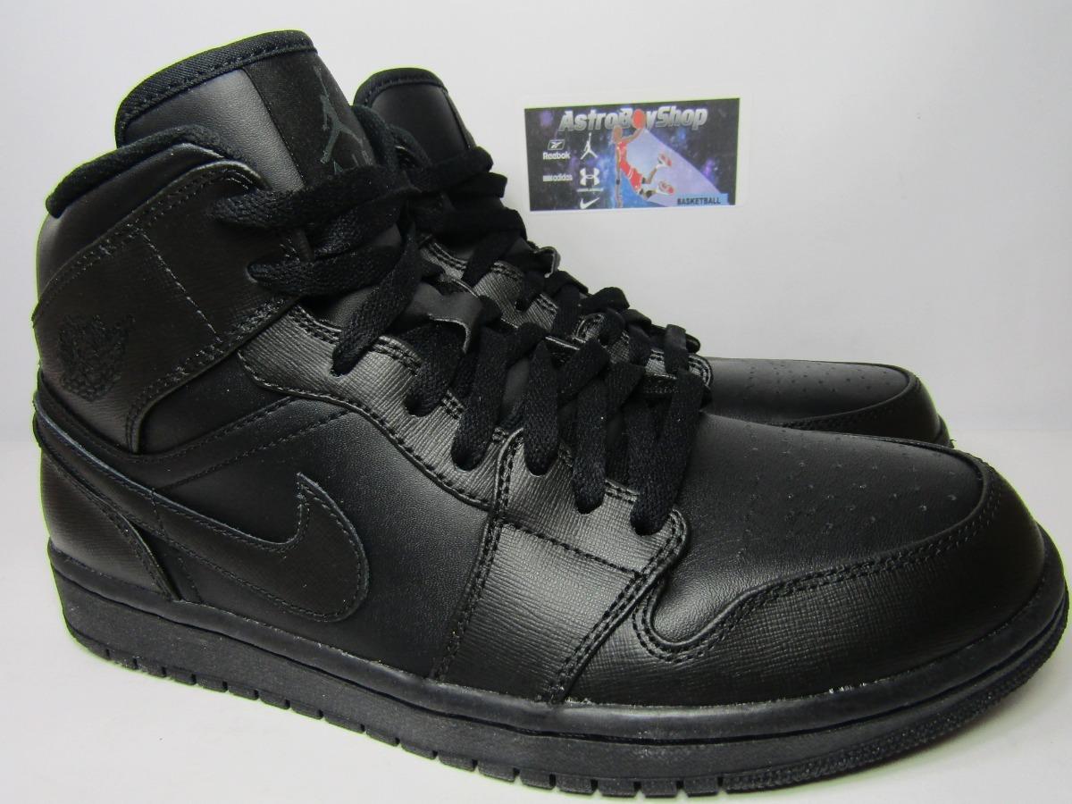 best website 8ee15 da05c Air Jordan 1 Mid Triple Black En Caja (28.5mex) Astroboyshop