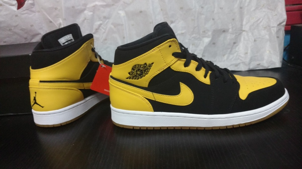 reduced nike jordan express zapatillas zapatillas 0f6dd cc091  spain air  jordan 1 retro mid new love amarillas unicas. cargando zoom. 1d36e a996b f7d51045db8b4