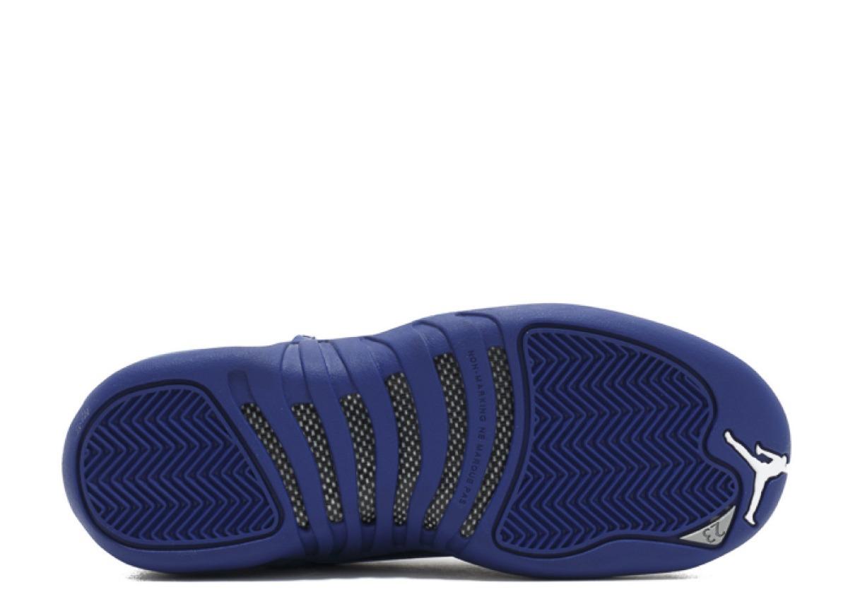 sports shoes a463c 9a54c air jordan 12 retro bg (gs) deep royal. Carregando zoom.