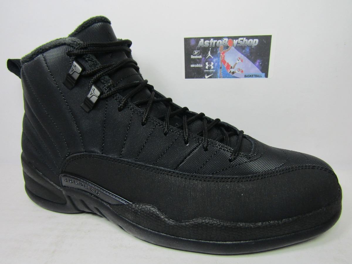 check out eabd1 7e623 Air Jordan 12 Winterized Black Edition (28 Mex) Astroboyshop