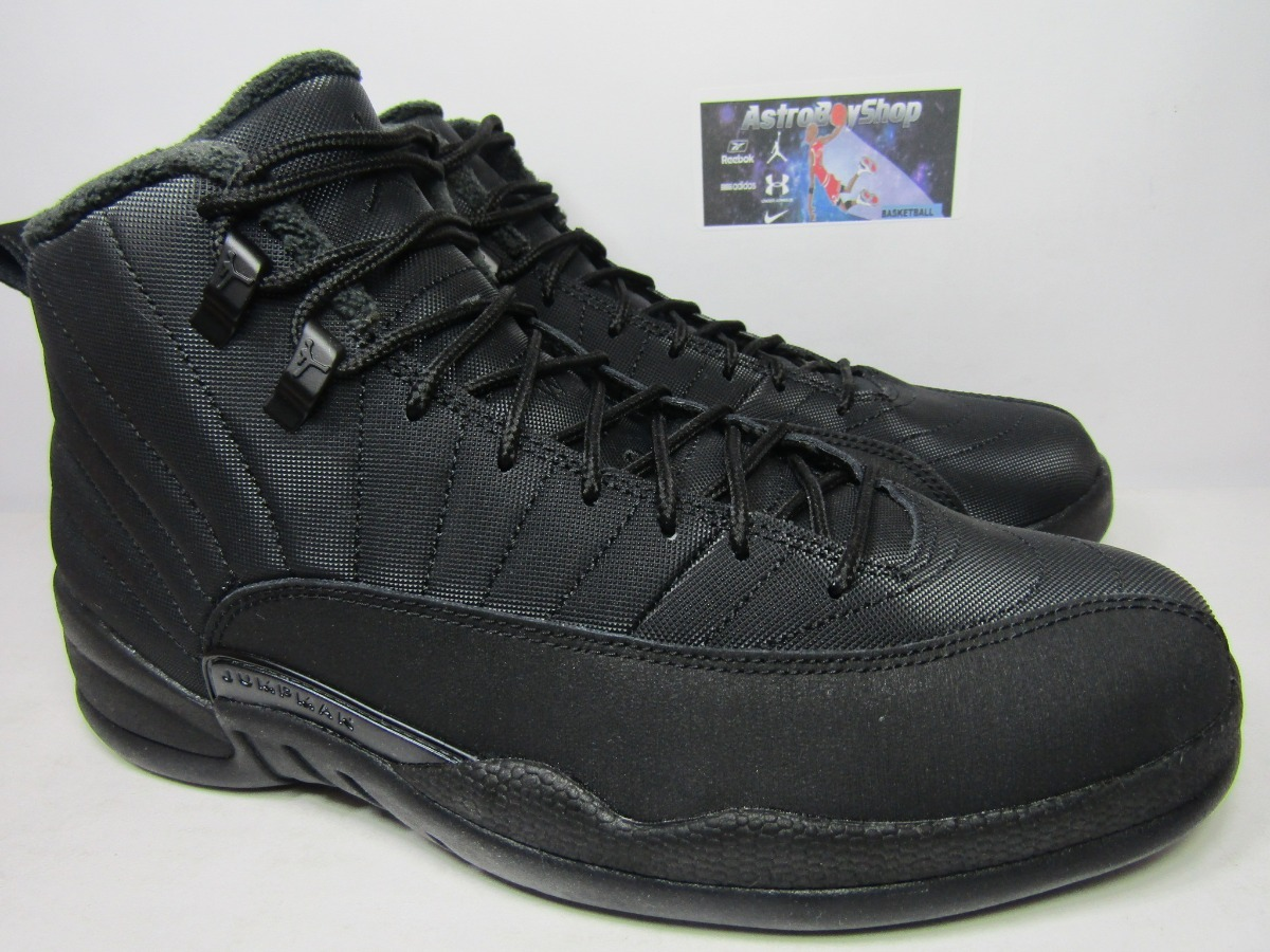huge selection of c6f4d 0b63e Air Jordan 12 Winterized Black Edition (30 Mex) Astroboyshop