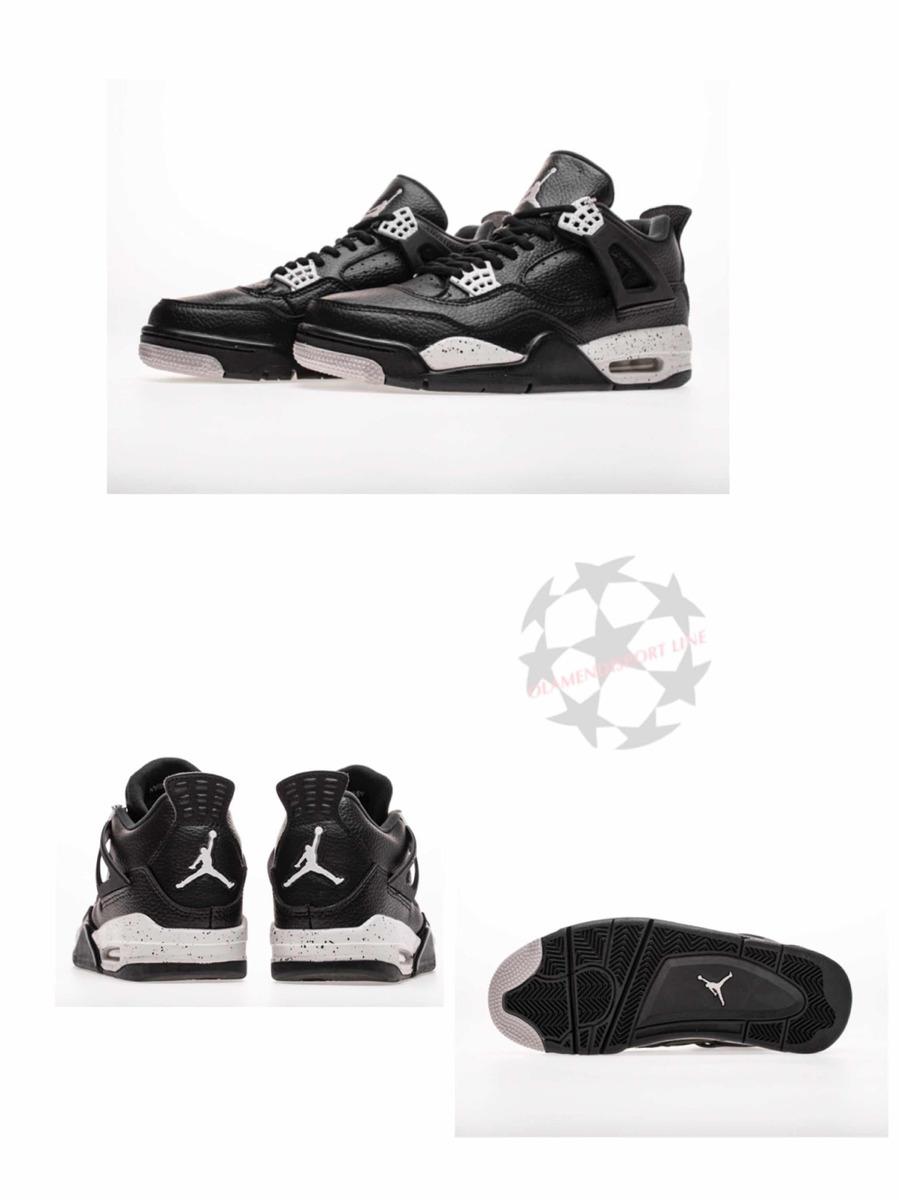the latest fb295 583f5 Air Jordan 4 Retro Oreo