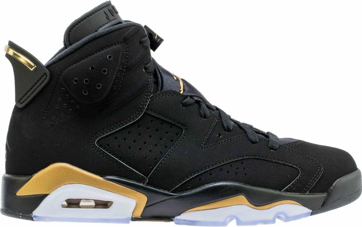 Circulo Grave Buque de guerra  Air Jordan 6 Dmp Retro Vi Negras Metálicas Doradas Ct4954007 - S/ 1.529,00  en Mercado Libre