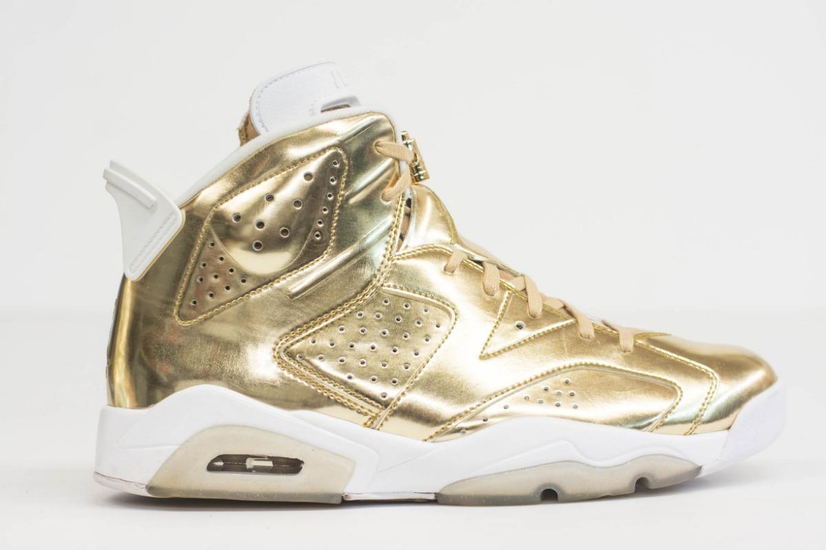 newest 4ed99 ee84c Air Jordan 6 Pinnacle Metallic Gold