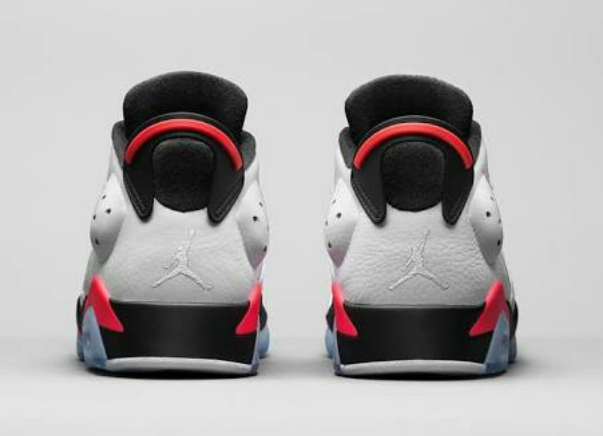 differently crazy price lowest discount Air Jordan 6 Retro Low White Infrared