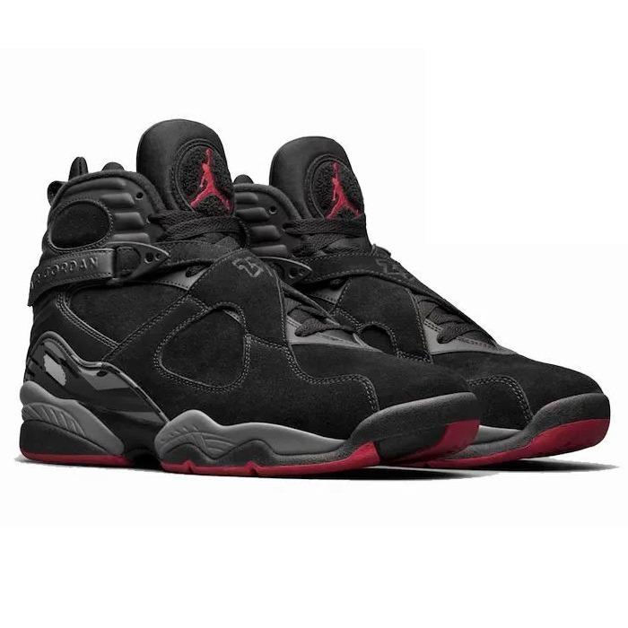 low priced 4a745 45a2c air jordan 8 retro gym red black wolf (sneakershark)