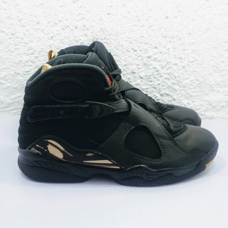 buy online d62a9 87a3e Air Jordan 8 Retro Ovo Black (nuevo En Caja #27.5)